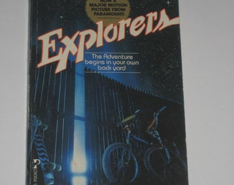 Explorers by George Gipe scifi novel based on the movie