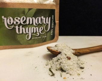 Rosemary Thyme Infused Salt