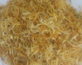 100% ORGANIC Calendula Petals dried herbal Tea Saltadorio herbs