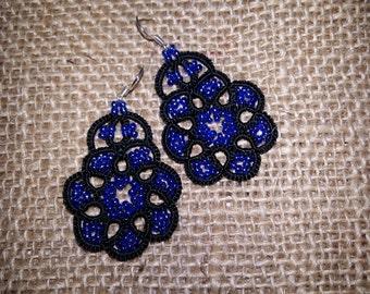 SALE  Lace earrings Night Jewellery  Earrings  Chandelier Earrings  gift for her  lace jewelry  bridesmaid earrings  Lightweight earrings
