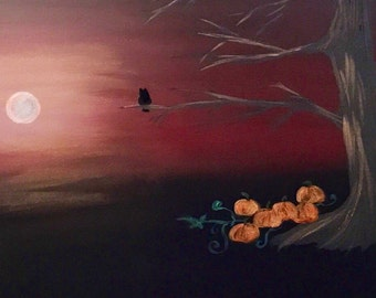 The Great Pumpkin 12x16
