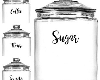 Free SH | Kitchen Storage Labels - Set of 5