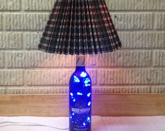 Cool Blue LED Table Lamp