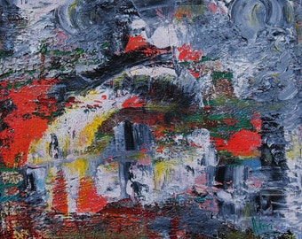 Original Abstract Painting, Colors Within 1