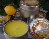 6 oz Travel Tin Candles-Lemon Meringue 6 Pack