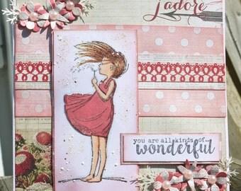 Wonderful Handmade Card