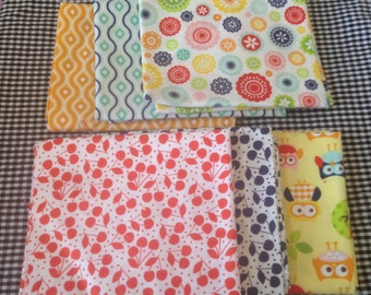 Riley Blake Designs Lazy Days by Lori Whitlock 6 Assorted Fat Quarters