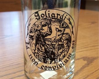 Goliard pint glass