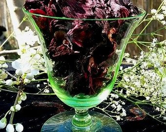 Organic Dried Hibiscus Flowers-Incense-Smudging-Pagan-Wicca-Hoodoo-Witchcraft