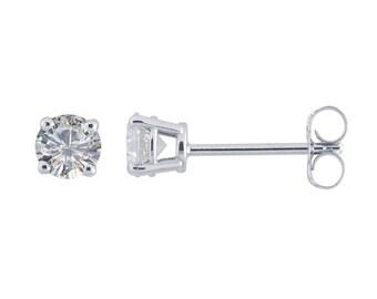 0.50 Carat Diamond Studs