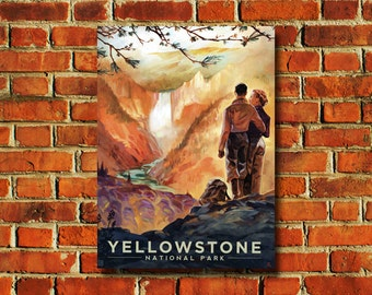 Yellowstone National Park Poster - #0782