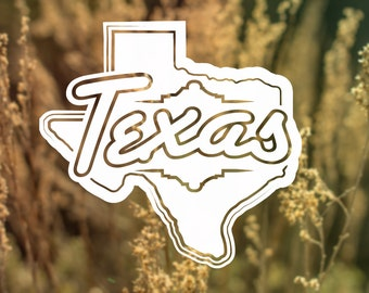 Texas Vinyl Sticker Decal