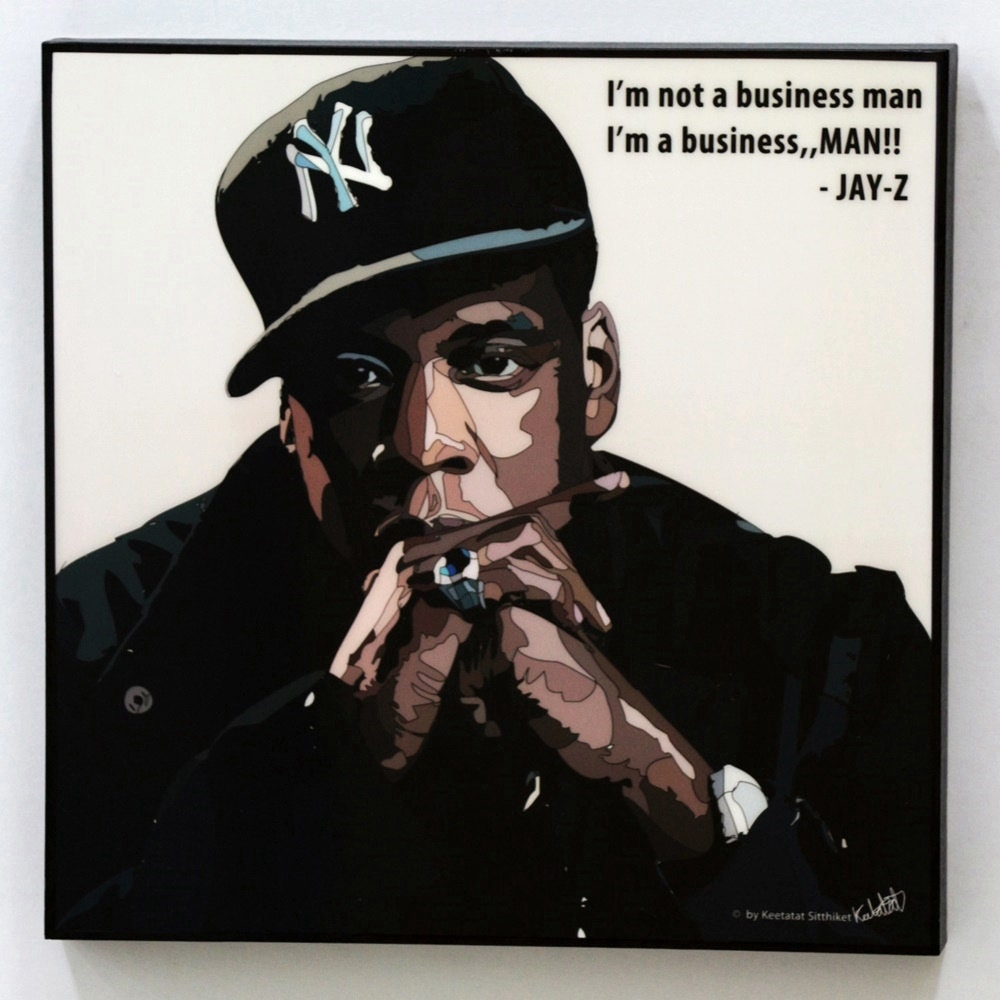 Positive Jay Z Quotes: Jay Z Wall Art Decals Quotes Inspirational Motivational Rapper