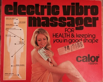 Vintage 1970's Vibro Massager