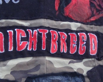 Nightbreed Film Logo patch
