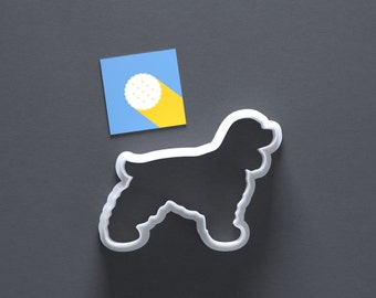 Cocker Spaniel cookie cutter, dog cookie cutter, Cockerspaniel, dog breeds