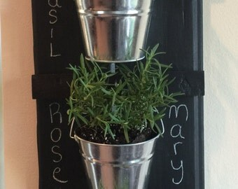 Hanging Herb Wall Garden