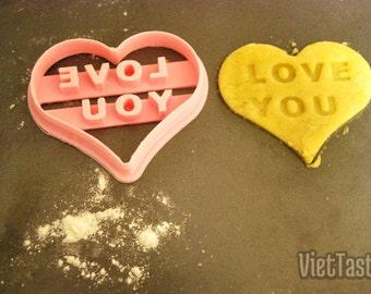 3D Printed Heart Cookie Cutter