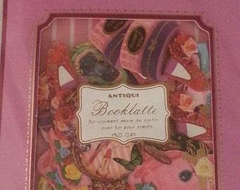 "Q-Lia Booklate ""Vintage"" items, 64 sticker flakes, 8 designs,  kawaii lot, sticker sack, sticker set"