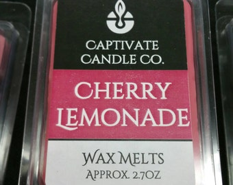 Cherry Lemonade Wax Melt / Tart / Aroma / Clamshell / Gift