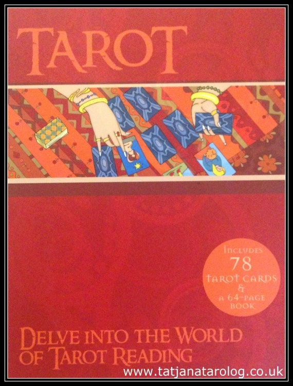 Easy Jumbo Tarot Cards Deck And Book Set 64 By OGRITGOODIES