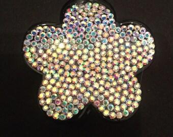 Swarovski crystal hair clip