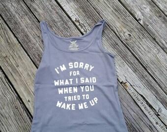 Wake up shirt.