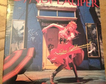 "Cyndi Lauper vintage vinyl record-""She's So Unusual""  vinyl album, pop rock album, Girls Just Want to Have Fun, Cyndi Lauper Music,"