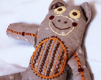 Customized Monkey Stuffed Animal