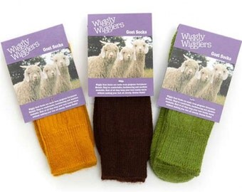 Comfort Goat Sock Earthy Colours Gift Pack (68% Mohair)