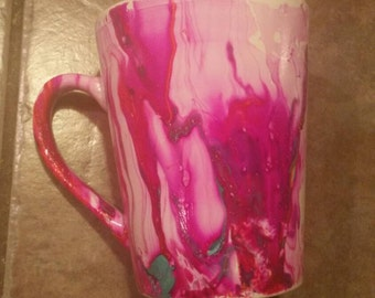 One of a Kind Marbled Mug