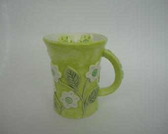 Ceramic cup- tea cup- coffe cup- handmade cup-gift idea- MADE TO ORDER