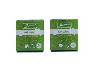 20 Gorreana Azorean Hysson Green Tea from the Azores Islands! (20x 2g) Teabags