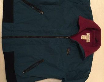 LL Bean Warm Up Jacket Full Zip