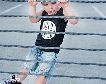 Wild Child Shirt/Wild Child Tank/Wild Child/Toddler Wild Child Shirt/Wild Child Toddler Tank/Infant Wild Child Shirt/Wild One/Wild One Shirt
