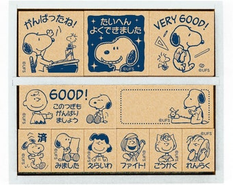 "Stamp""Snoopy Wooden Stamp Set""SDH-043"