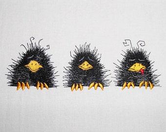 Three little Raven