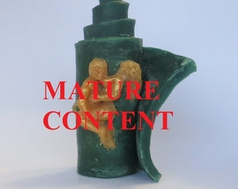Erotic candle Kama Sutra Artistic candle Unique candle Decorative candle Gift Handmade Candle Designer Candle