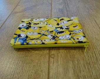 Minion Makeup bag or Pencil case