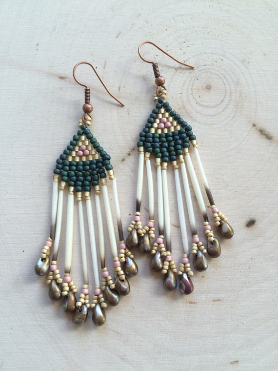 Porcupine Quill Jewelry Porcupine Quill Beaded...