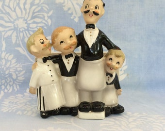 Barbershop Quartet Planter