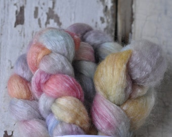 English Countryside on Tussal Silk and Bluefaced Leicester
