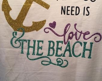 Anchord Love & the beach