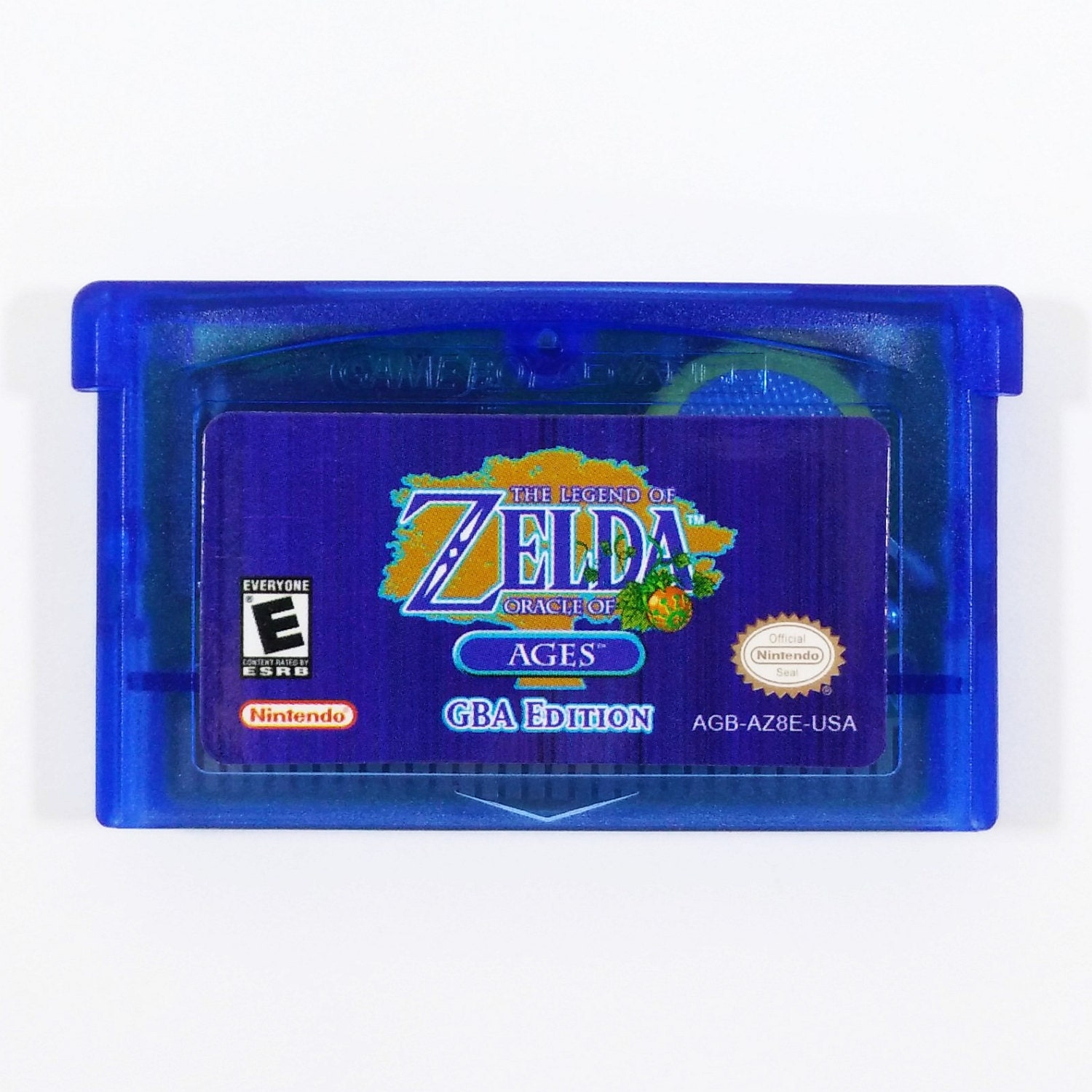 Game boy color legend of zelda - Legend Of Zelda Oracle Of Ages Gba Edition Cartridge For Nintendo Game Boy Advance Custom Cart Free Shipping
