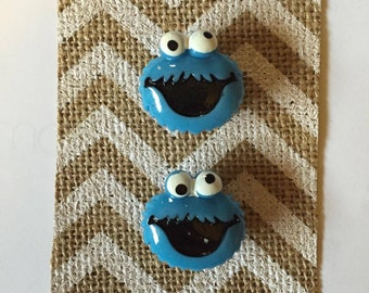 Cookie Monster Magnets (Set of 2)