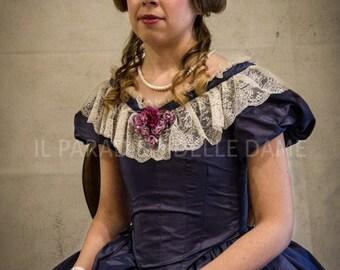 Victorian dress 1850-1860