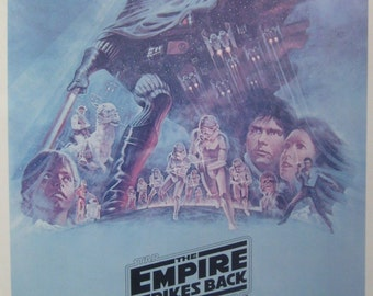 Star Wars 27x40 The Empire Strikes Back Style B Movie Poster