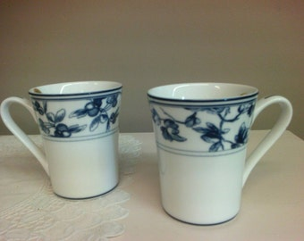 Waterford China Mugs Set of 6.