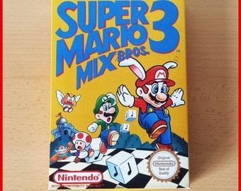Super Mario Bros 3 Mix Nintendo NES Replacement Box Only - No Game/Manual