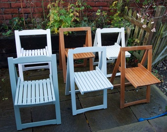 6 x Vintage Folding Chairs